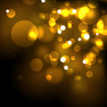 Gold festive abstract vector background Royalty Free Stock Images