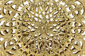 Gold filigree Royalty Free Stock Photo