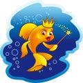Gold fish Zdjęcie Stock