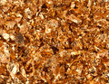 Gold flakes Royalty Free Stock Image