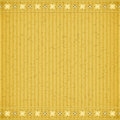 Gold flower card board texture for note or congratulate Royalty Free Stock Image