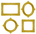 Gold frame Royalty Free Stock Images