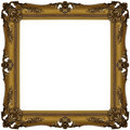Gold frame 3 Stock Image