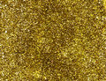 Gold glitter background. Stock Images