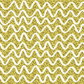 Gold glitter sparkling pattern. Decorative seamless background. Shiny golden abstract texture. Tile dottetd backdrop.