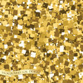 Gold glitter texture. Background for your design. Vector