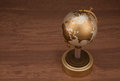Gold globe Royalty Free Stock Photo