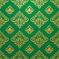 Gold green pattern vector for background and wallpaper art Royalty Free Stock Photo