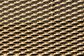 Gold grille background abstract golden Stock Photo