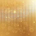 Gold halftone background template