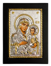 Gold icon of Virgin Mary Royalty Free Stock Photo
