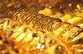Zlato šperky / selektivní soustředit