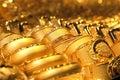 Zlato šperky / měkký selektivní soustředit
