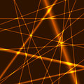 Gold lines background glow grid Stock Images