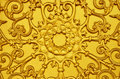 Gold Lotus Low Relief