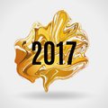 Gold marble New Year Royalty Free Stock Photo