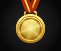 Gold Medal, Winner, Award, Champion Royalty Free Stock Photo