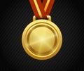 Gold Medal, Winner, Award, Champion Royalty Free Stock Photo