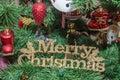 Gold Merry Christmas Write, Ch...