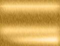 Gold metal brushed background Royalty Free Stock Photo