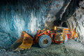Gold mine tunnel Royalty Free Stock Photo