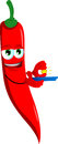 Gold miner red hot chili pepper