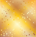 Gold mosaic Royalty Free Stock Photo