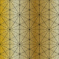 Gold mosaic background abstract geometric vector pattern Royalty Free Stock Photo