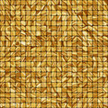 Gold mosaic background. EPS 8 Stock Image