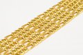 Gold necklaces Royalty Free Stock Photo