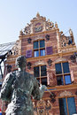 Gold Office in Groningen City, Netherlands Royalty Free Stock Photo