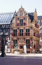 Gold Office in Groningen City, the Netherlands Royalty Free Stock Photo