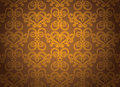 Gold ornamental pattern Royalty Free Stock Photo