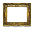 Gold Ornate Frame Royalty Free Stock Photo