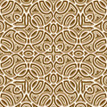 Gold pattern vintage texture seamless Stock Photo