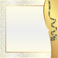 Gold pearl background Royalty Free Stock Photo