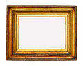 Gold picture frame Royalty Free Stock Photos