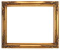 Gold Picture Frame Royalty Free Stock Photo