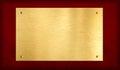 Zlato plaketa na