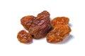 Gold raisins Royalty Free Stock Photo
