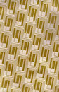 Gold Repeating Retro Pattern Royalty Free Stock Photos
