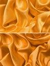 Gold satin texture