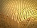 Gold screen background Royalty Free Stock Photo