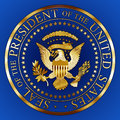 GOLD SEAL OF THE United States PRESIDENT, graphic elaboration