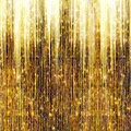 Gold Shooting Stars Royalty Free Stock Photo