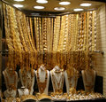 Gold souk Royalty Free Stock Photo