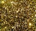 Gold sparkle glitter sequins background