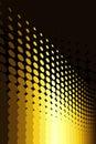 Gold Spot Pattern Royalty Free Stock Photo