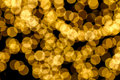 Gold spots bokeh background Royalty Free Stock Photos