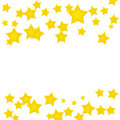 Gold Star Border Royalty Free Stock Photos